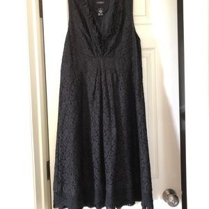 Sanctuary Black lace dress